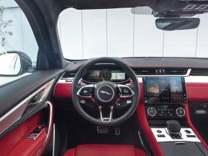 Interior do Novo Jaguar F-PACE